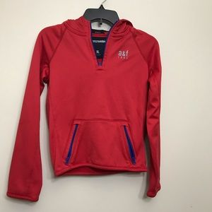 A&F Boys Red Hoodie